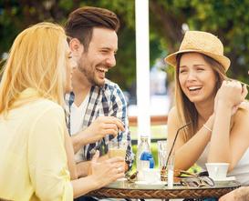 lachen is gezond voor je omzet